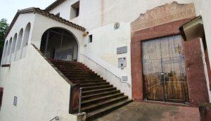 Convent dels Caputxins on l'hospital va ser traslladat entre els anys 1835 i 1868